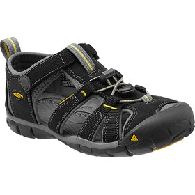 Keen Seacamp II CNX Chaussures Adolescents, black/yellow